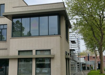 Dansschool Zoetermeer buiten schilderwerk (1)