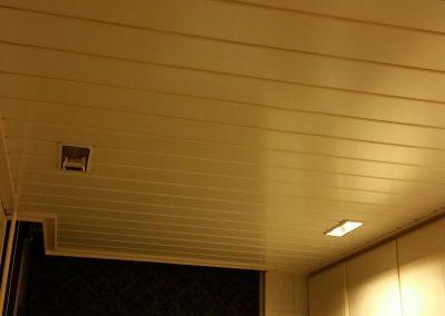 Sliedrecht (1): Keukenplafond renovatie - oude situatie