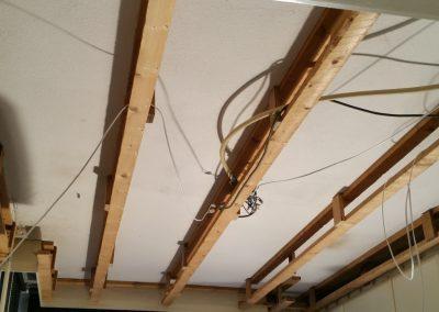 Sliedrecht (2): Keukenplafond renovatie - oude situatie