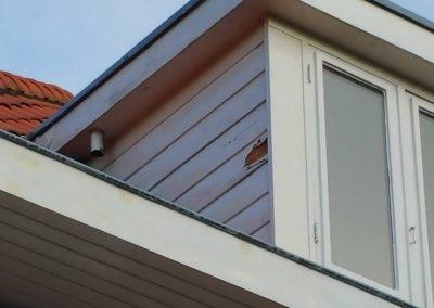 Vernieuwing zijkant dakkapel i.v.m houtrot (1)