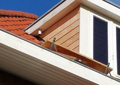 Vernieuwing zijkant dakkapel i.v.m houtrot (3)